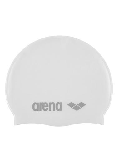 Arena Arena 9166215 Classic Silikon Yüzücü Bone Beyaz